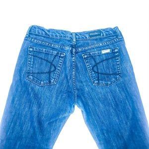 David Kahn Jeans Crop Style 4456 Size 29